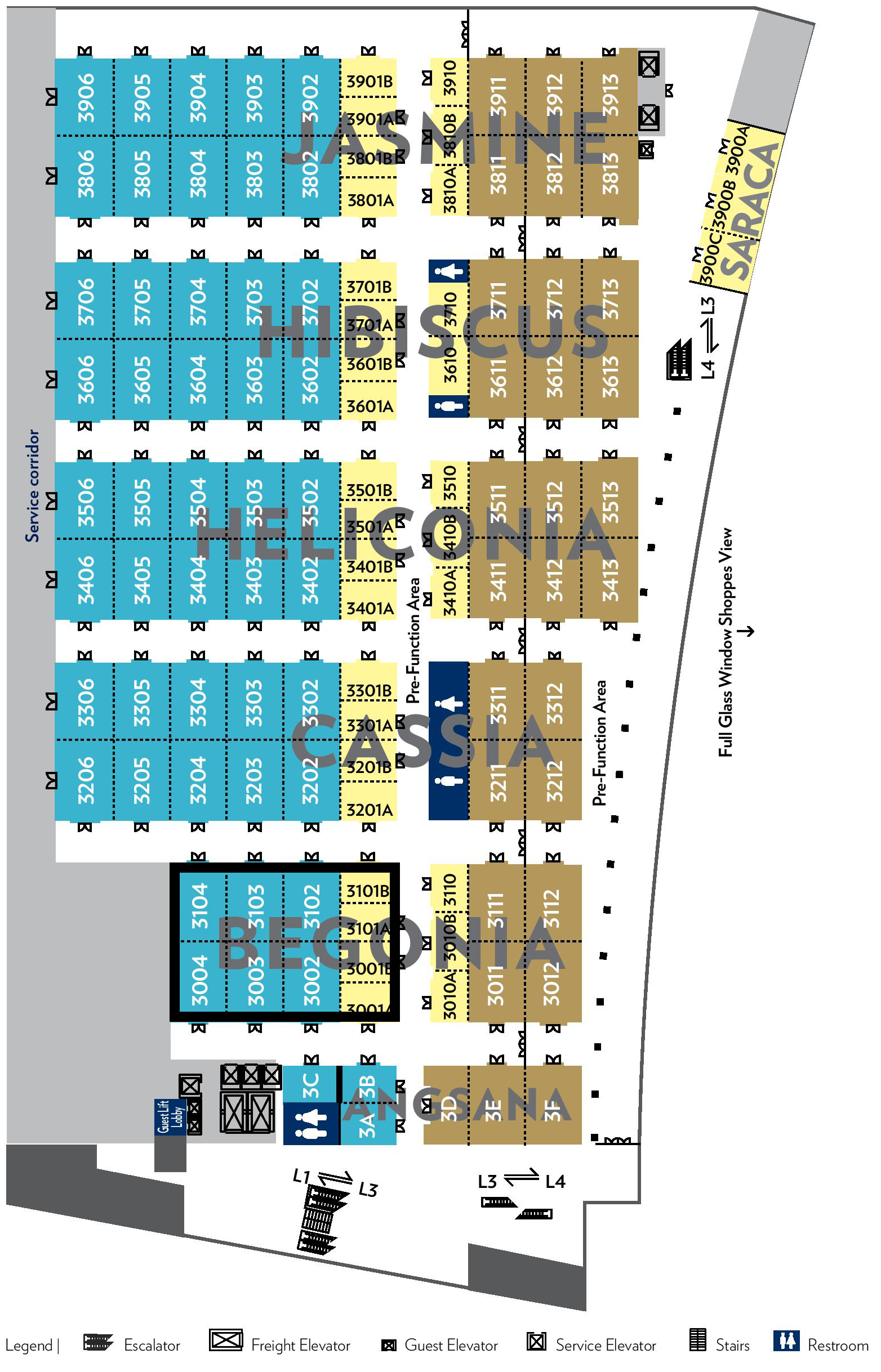 Sands Expo And Convention Center Floor Plan 100 Las