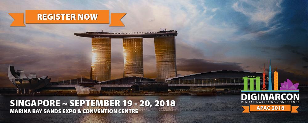 DigiMarCon Asia Pacific 2018 Register